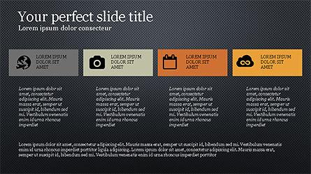 Grid Layout Agenda Slide Deck Slide 10
