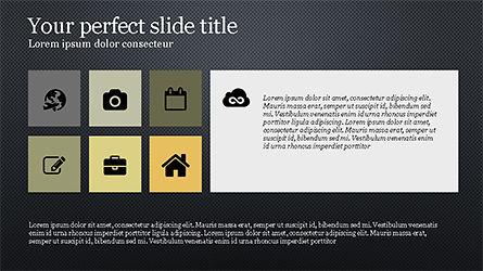 Grid Layout Agenda Slide Deck Slide 11