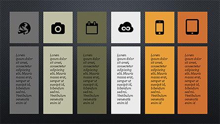 Grid Layout Agenda Slide Deck Slide 12