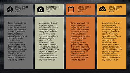 Grid Layout Agenda Slide Deck Slide 14