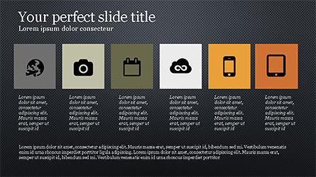 Grid Layout Agenda Slide Deck Slide 16