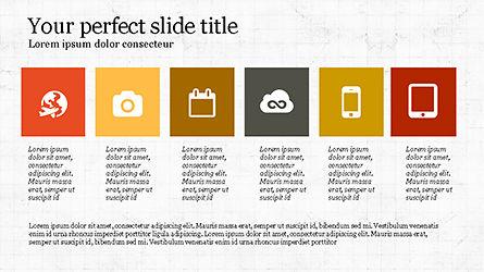 Grid Layout Agenda Slide Deck Slide 8