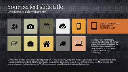 Grid Layout Agenda Slide Deck Slide 9