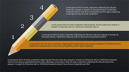 Pencil Options Toolbox, Slide 10, 04233, Stage Diagrams — PoweredTemplate.com