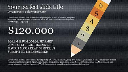 Pencil Options Toolbox, Slide 11, 04233, Stage Diagrams — PoweredTemplate.com