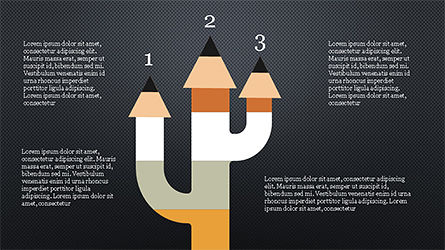 Pencil Options Toolbox, Slide 15, 04233, Stage Diagrams — PoweredTemplate.com