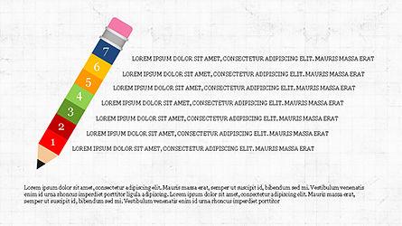 Pencil Options Toolbox, Slide 5, 04233, Stage Diagrams — PoweredTemplate.com