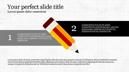 Pencil Options Toolbox, Slide 6, 04233, Stage Diagrams — PoweredTemplate.com