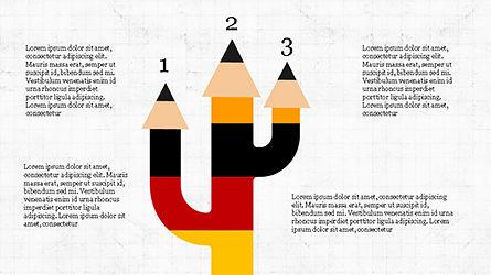 Pencil Options Toolbox, Slide 7, 04233, Stage Diagrams — PoweredTemplate.com