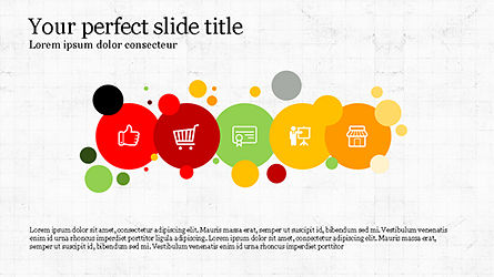 Trendy Presentation Template, Slide 3, 04234, Icons — PoweredTemplate.com