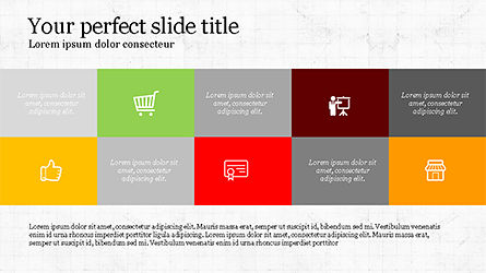 Trendy Presentation Template, Slide 4, 04234, Icons — PoweredTemplate.com