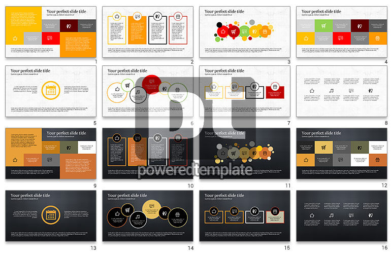 Trendy Presentation Template