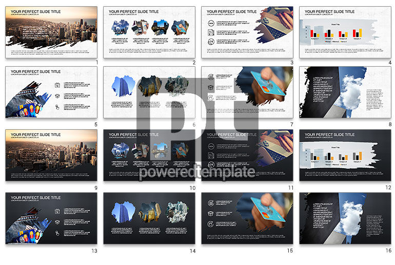 Financial Brief Presentation Template
