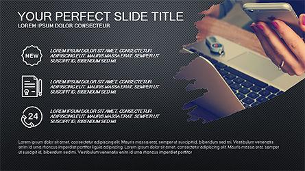 Financial Brief Presentation Template, Slide 11, 04236, Presentation Templates — PoweredTemplate.com