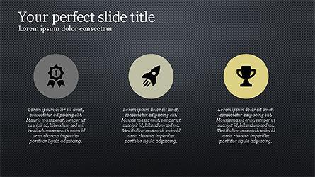 Minimalistic Presentation with Flat Icons Slide 10