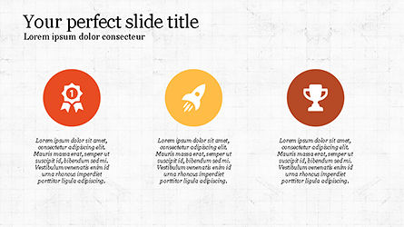 Minimalistic Presentation with Flat Icons Slide 2