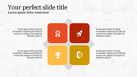 Minimalistic Presentation with Flat Icons Slide 3