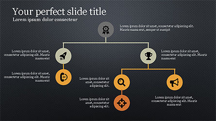 Minimalistic Presentation with Flat Icons Slide 9