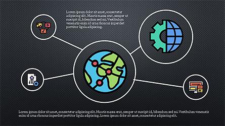 Mind Map Infographics Concept, Slide 11, 04239, Infographics — PoweredTemplate.com