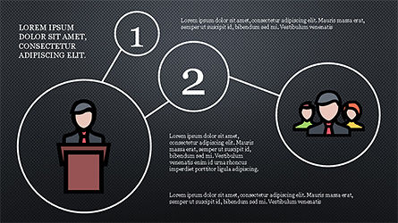 Mind Map Infographics Concept, Slide 14, 04239, Infographics — PoweredTemplate.com