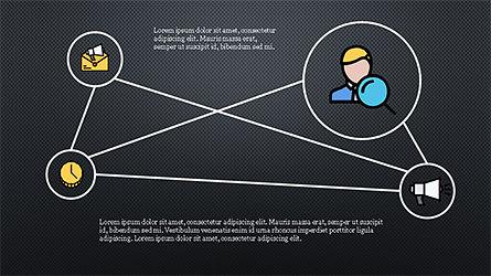 Mind Map Infographics Concept, Slide 16, 04239, Infographics — PoweredTemplate.com