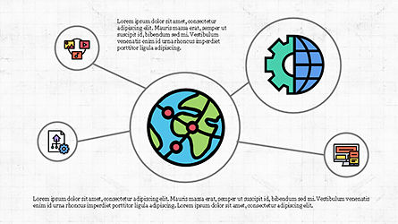 Mind Map Infographics Concept Slide 3