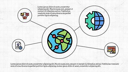 Mind Map Infographics Concept, Slide 3, 04239, Infographics — PoweredTemplate.com