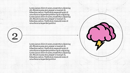 Mind Map Infographics Concept, Slide 5, 04239, Infographics — PoweredTemplate.com