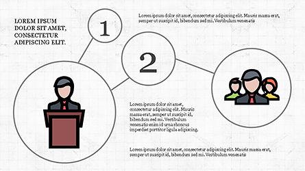Mind Map Infographics Concept, Slide 6, 04239, Infographics — PoweredTemplate.com
