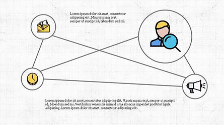 Mind Map Infographics Concept, Slide 8, 04239, Infographics — PoweredTemplate.com