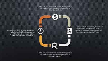 Financial Processes Minimalist Presentation Template, Slide 10, 04240, Process Diagrams — PoweredTemplate.com