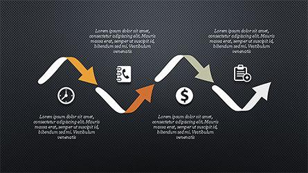Financial Processes Minimalist Presentation Template, Slide 11, 04240, Process Diagrams — PoweredTemplate.com