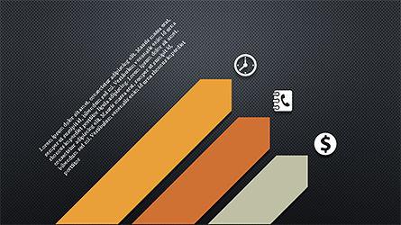 Financial Processes Minimalist Presentation Template, Slide 12, 04240, Process Diagrams — PoweredTemplate.com