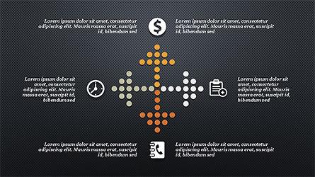 Financial Processes Minimalist Presentation Template, Slide 13, 04240, Process Diagrams — PoweredTemplate.com