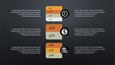 Financial Processes Minimalist Presentation Template, Slide 15, 04240, Process Diagrams — PoweredTemplate.com