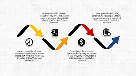 Financial Processes Minimalist Presentation Template, Slide 3, 04240, Process Diagrams — PoweredTemplate.com