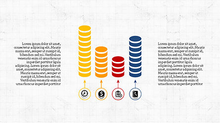 Financial Processes Minimalist Presentation Template, Slide 6, 04240, Process Diagrams — PoweredTemplate.com
