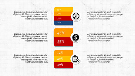 Financial Processes Minimalist Presentation Template, Slide 7, 04240, Process Diagrams — PoweredTemplate.com
