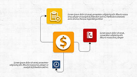Financial Processes Minimalist Presentation Template, Slide 8, 04240, Process Diagrams — PoweredTemplate.com