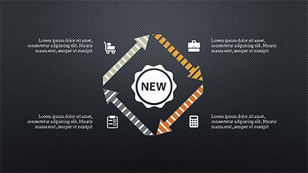 Flat Style Designed Pitch Deck Template, Slide 11, 04242, Presentation Templates — PoweredTemplate.com