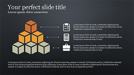 Flat Style Designed Pitch Deck Template, Slide 13, 04242, Presentation Templates — PoweredTemplate.com