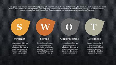SWOT Analysis Slide Deck, Slide 13, 04243, Business Models — PoweredTemplate.com