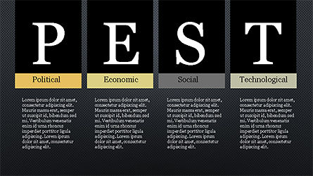 PEST Analysis Slide Deck, Slide 15, 04244, Business Models — PoweredTemplate.com