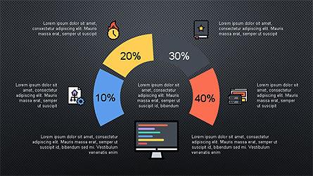 Presentation Deck with Colorful Shapes, Slide 11, 04245, Presentation Templates — PoweredTemplate.com