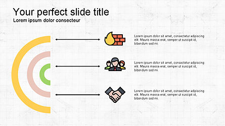 Presentation Deck with Colorful Shapes, Slide 2, 04245, Presentation Templates — PoweredTemplate.com