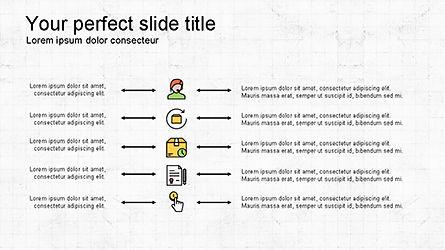 Presentation Deck with Colorful Shapes, Slide 7, 04245, Presentation Templates — PoweredTemplate.com