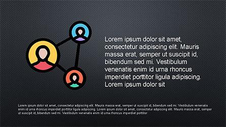 Presentation Deck with Colorful Shapes, Slide 9, 04245, Presentation Templates — PoweredTemplate.com