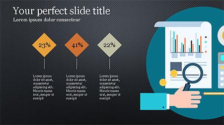 Financial Report Creative Presentation Template, Slide 13, 04246, Presentation Templates — PoweredTemplate.com