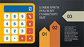 Financial Report Creative Presentation Template#14