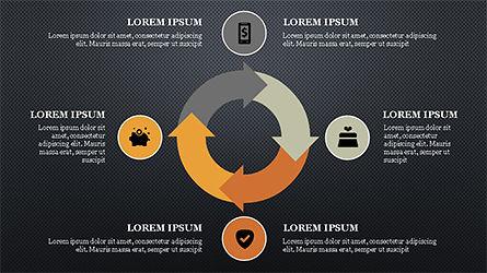 E Commerce Routine Presentation Concept, Slide 13, 04247, Organizational Charts — PoweredTemplate.com